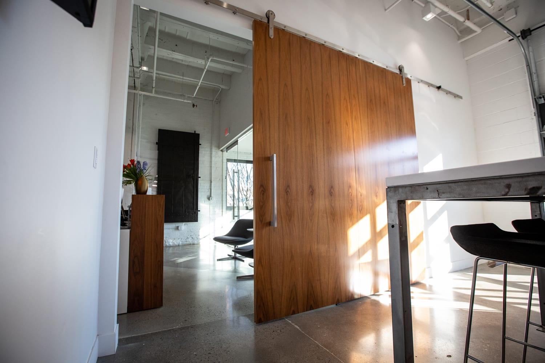 Custom door made by Design Supply