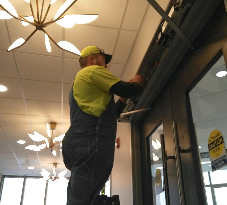 Commercial Door Maintenance